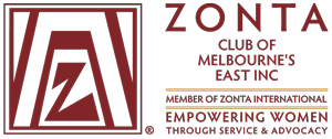 Zonta Club of Melbourne's East Logo